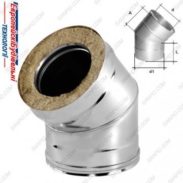 ЕвроБудТех колено-термо-минвата 45-300-360-05